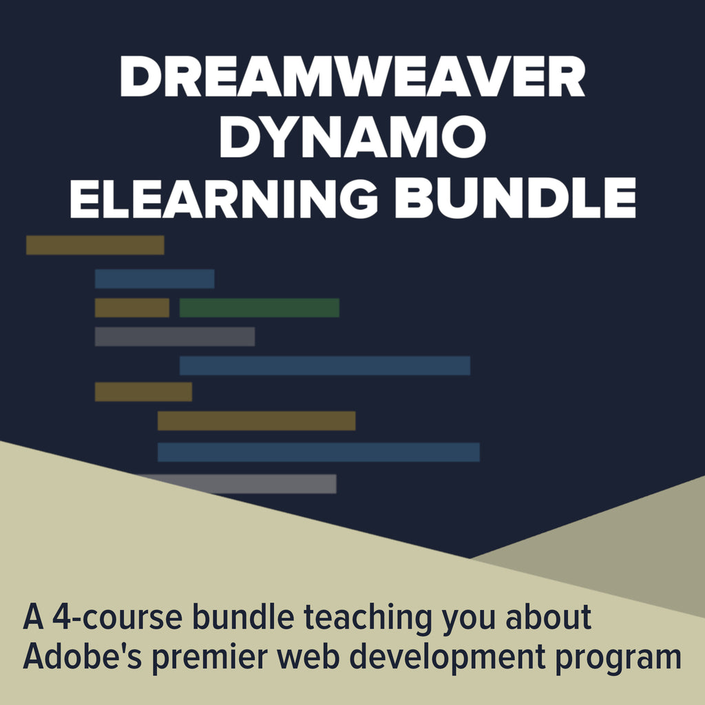 Dreamweaver Dynamo eLearning Bundle - Kiwi Courses
