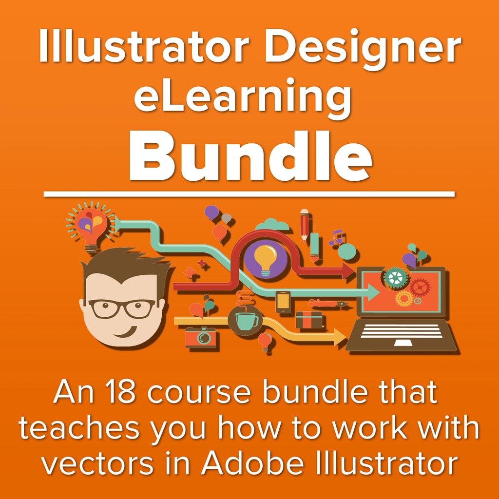 Illustrator Designer eLearning Bundle - Kiwi Courses