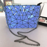 Cool Crossbody taske i diamantmønster