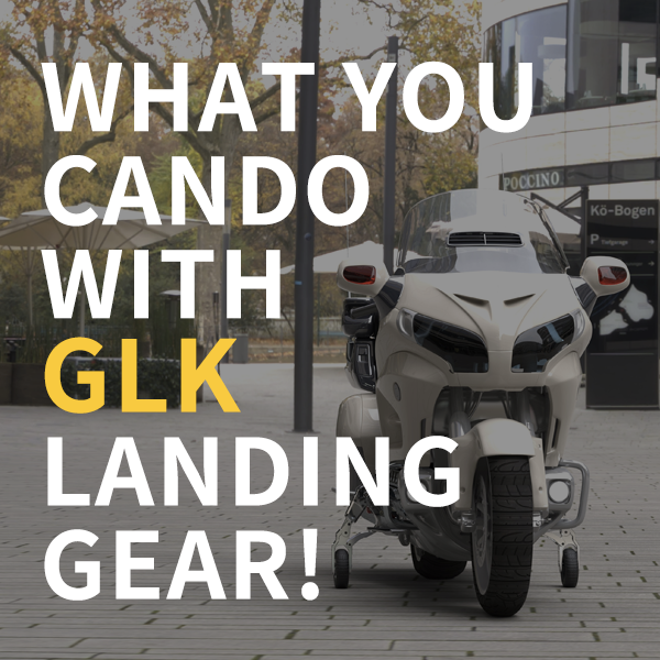 What you can do with GLK landing gear!