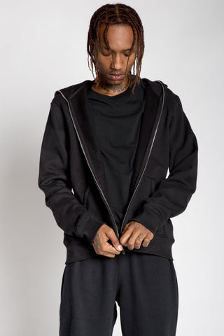 Full Zip Body Bag Hoodie