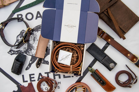 Boar and Leather Subscription Boxes