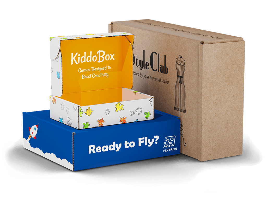 Custom subscription and mailer boxes