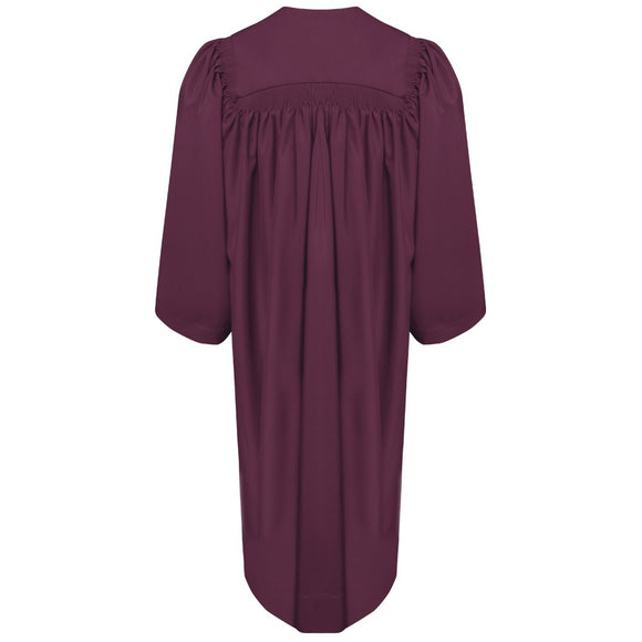 Deluxe Maroon Choir Robe - Church Choir Robes - ChoirBuy