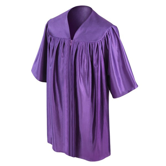 Child's Purple Choir Robe - Church Choir Robes - ChoirBuy