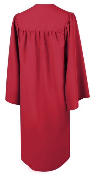 Matte Red Choir Robe - Church Choir Robes - ChoirBuy