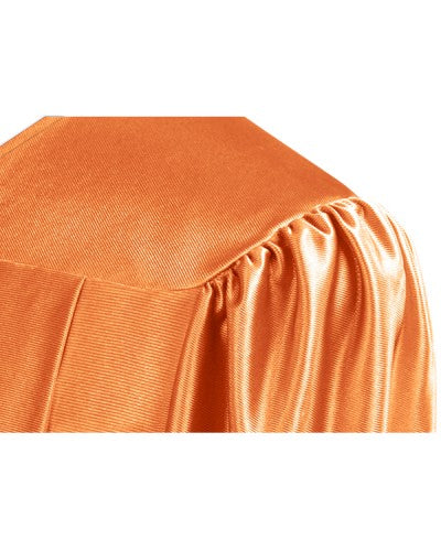 Shiny Orange Choir Robe - Church Choir Robes - ChoirBuy