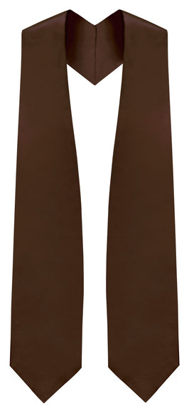 Brown Traditional Choir Stole - Church Choir Robes - ChoirBuy