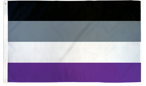 Asexual Flag 3x5ft Poly