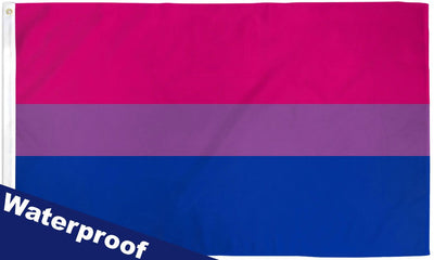 Bisexual Waterproof Flag 3x5ft Poly