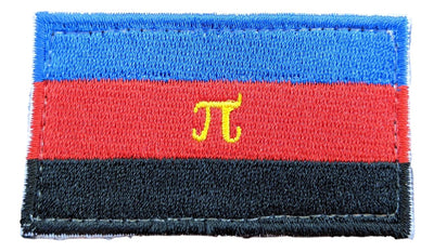 "Polyamorous (Poly) Hook & Loop(Velcro) Patch 2.5"" x 1.5"""