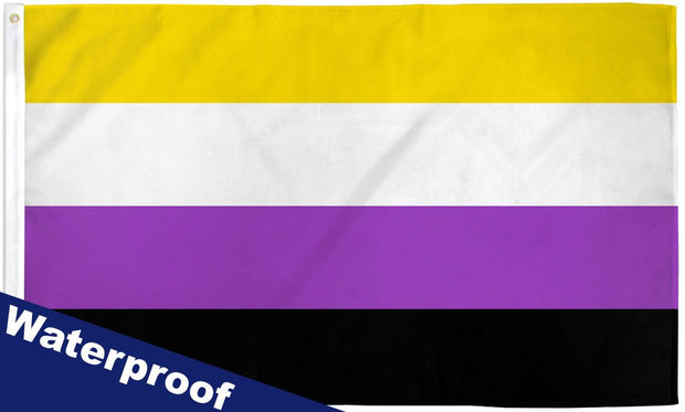 Non-Binary 3' x 5' Waterproof Poly Flag