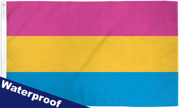 Pansexual 3' x 5' Waterproof Poly Flag