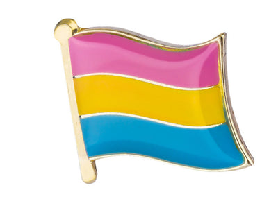 Pansexual Flag Lapel Pin