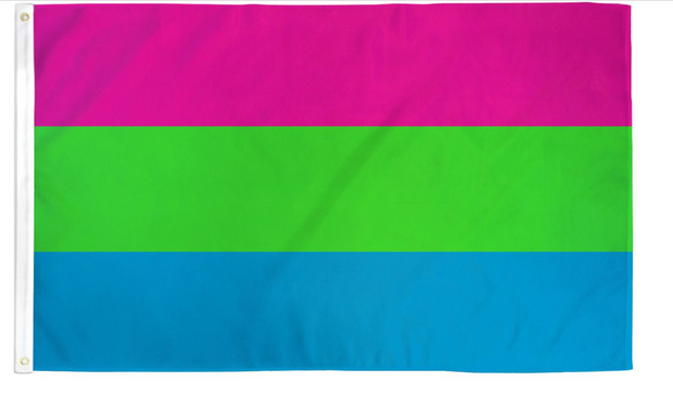 Polysexual Flag 3x5ft Poly