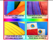 Gay Straight Alliance Waterproof Flag 3x5ft Poly (Ally)
