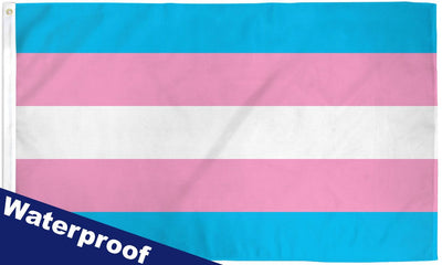 Transgender Waterproof Flag 3x5ft Poly