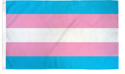 Transgender 2' x 3' Waterproof Poly Flag