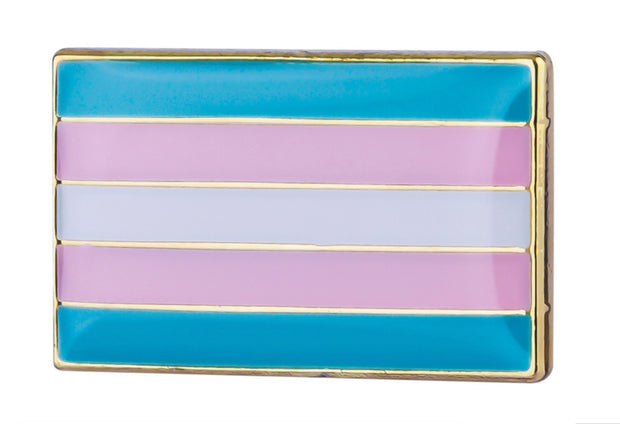 Transgender Small Flag Lapel Pin