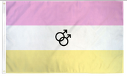 Twink Pride Flag 3x5ft Poly