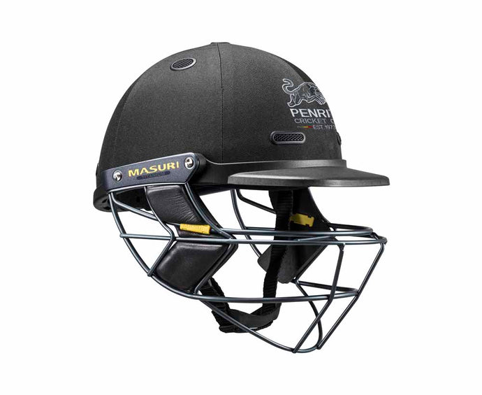 Masuri SENIOR Vision Series Elite Helmet with Titanium Grille - Penrith CC