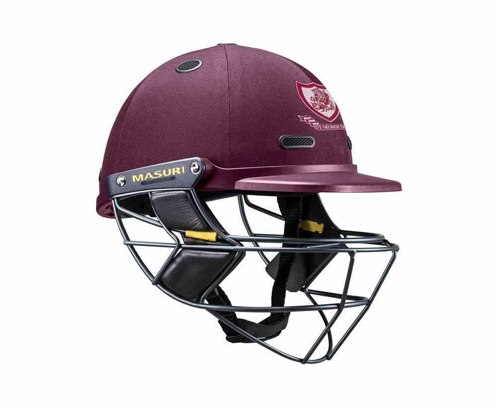 Masuri SENIOR Vision Series Elite Helmet with Titanium Grille - St George CC