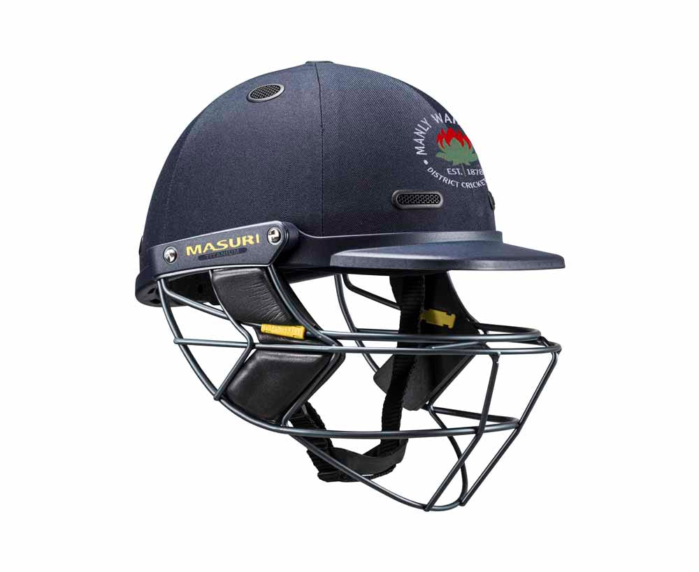 Masuri SENIOR Vision Series Elite Helmet with Titanium Grille - Manly-Warringah CC