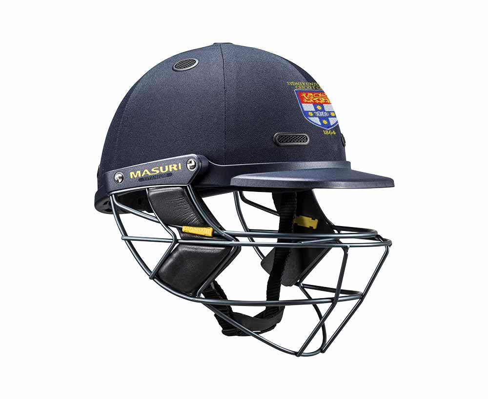 Masuri SENIOR Vision Series Elite Helmet with Titanium Grille - Sydney University CC