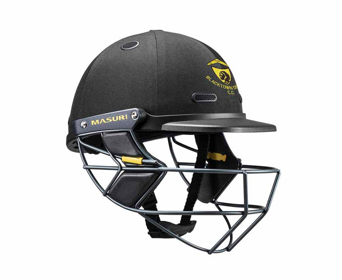 Masuri SENIOR Vision Series Test Helmet with Steel Grille - Blacktown CC