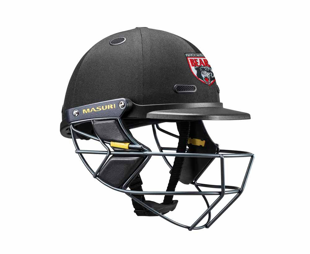 Masuri SENIOR Vision Series Test Helmet with Steel Grille - North Sydney CC