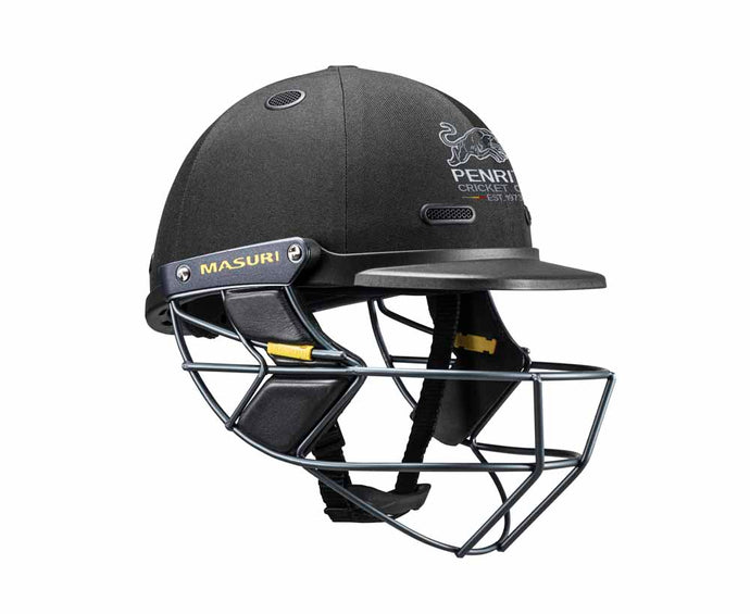 Masuri SENIOR Vision Series Test Helmet with Steel Grille - Penrith CC