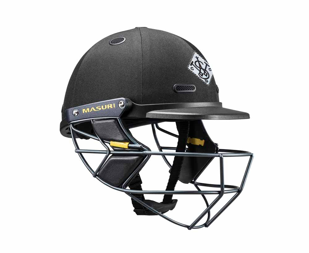 Masuri SENIOR Vision Series Test Helmet with Steel Grille - Western Suburbs CC