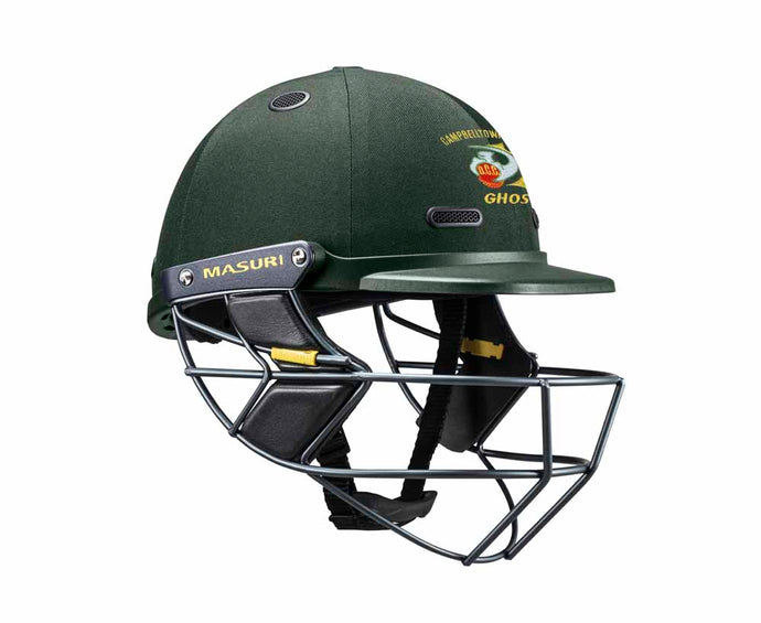Masuri SENIOR Vision Series Test Helmet with Steel Grille - Campbelltown-Camden CC