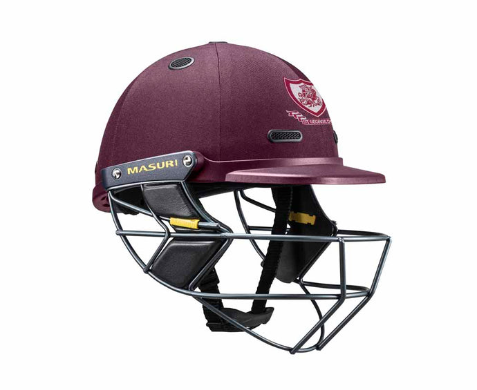 Masuri SENIOR Vision Series Test Helmet with Steel Grille - St George CC
