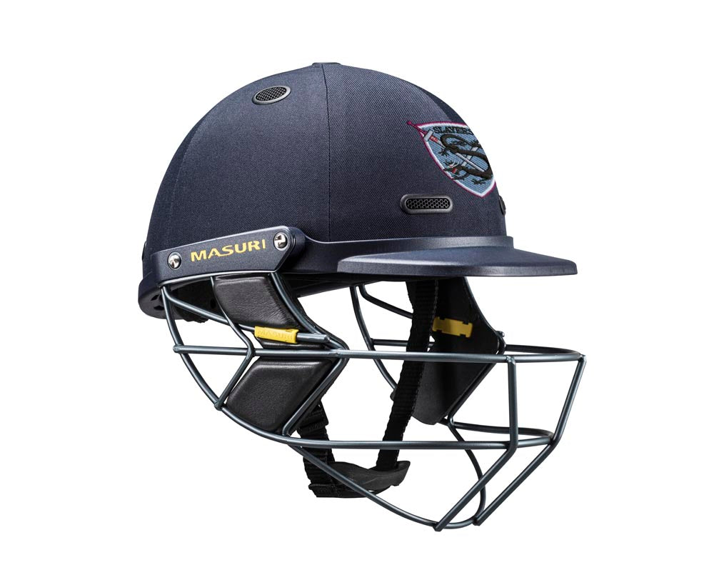 Masuri SENIOR Vision Series Test Helmet with Steel Grille - St George-Sutherland CC