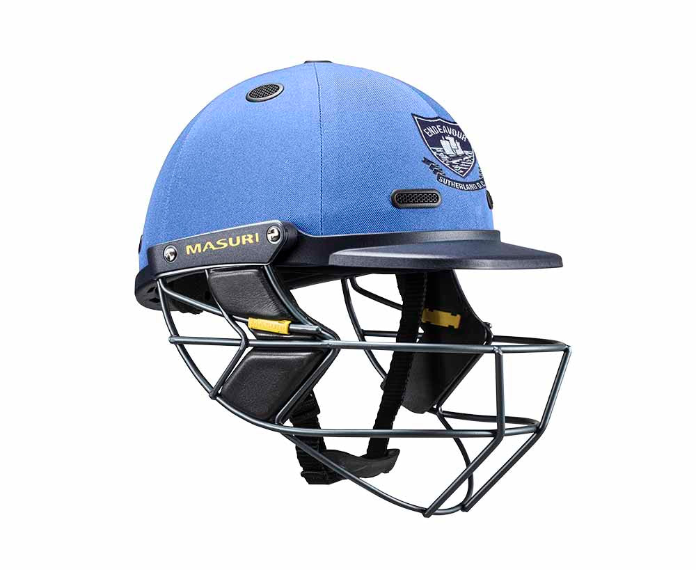 Masuri SENIOR Vision Series Test Helmet with Steel Grille - Sutherland CC