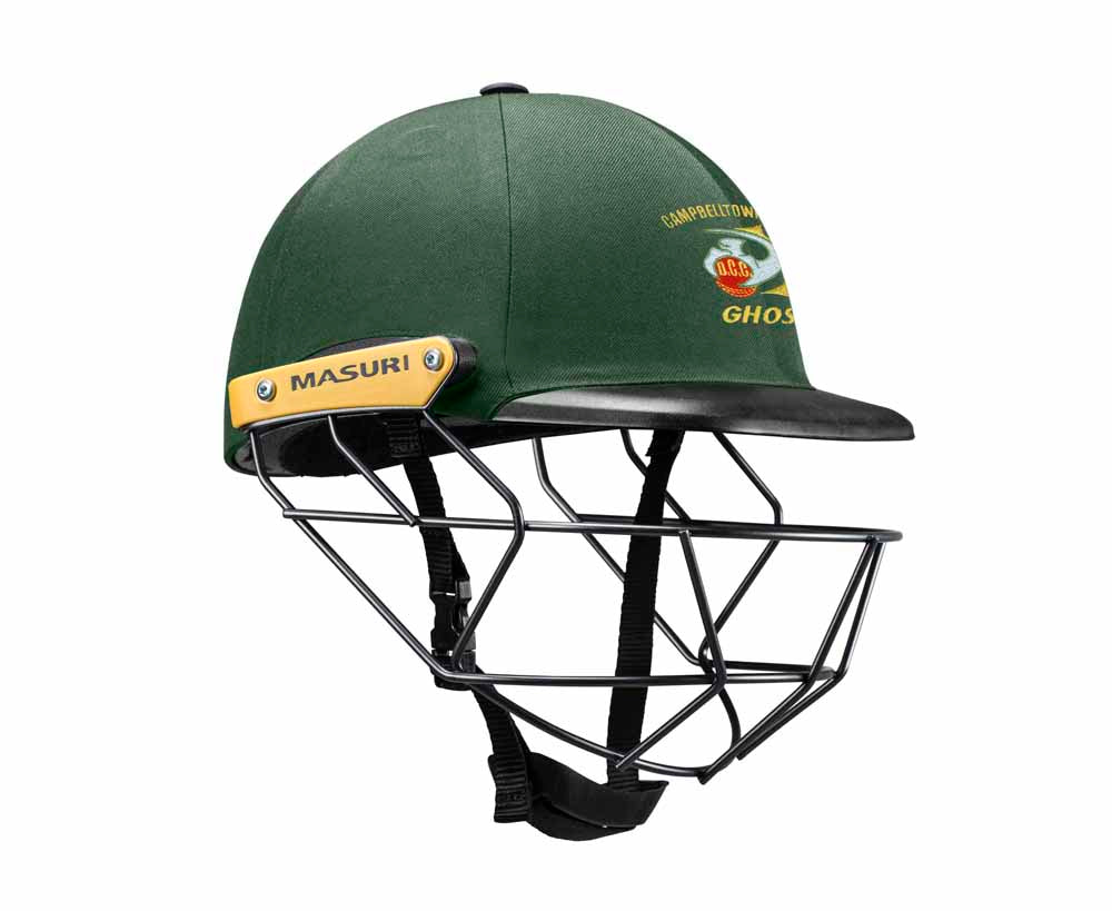 Masuri Original Series MK2 JUNIOR Legacy Plus Helmet with Steel Grille - Campbelltown-Camden CC