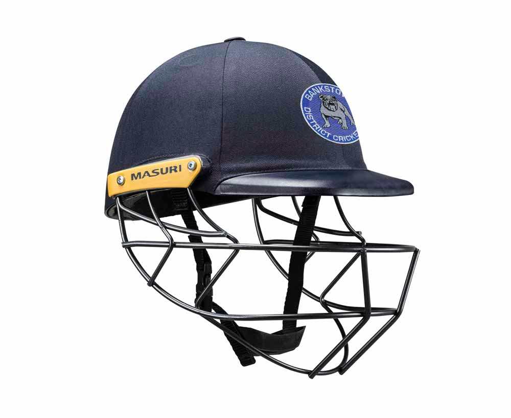 Masuri Original Series MK2 SENIOR Legacy Plus Helmet with Steel Grille - Bankstown CC