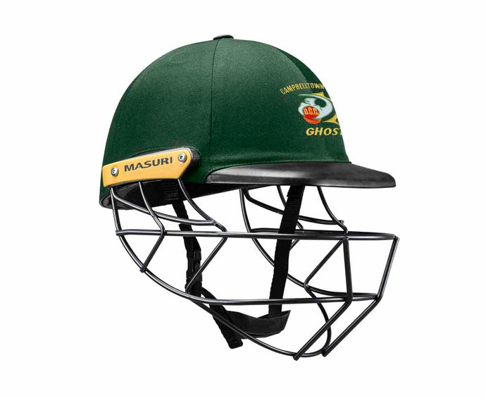 Masuri Original Series MK2 SENIOR Legacy Plus Helmet with Steel Grille - Campbelltown-Camden CC