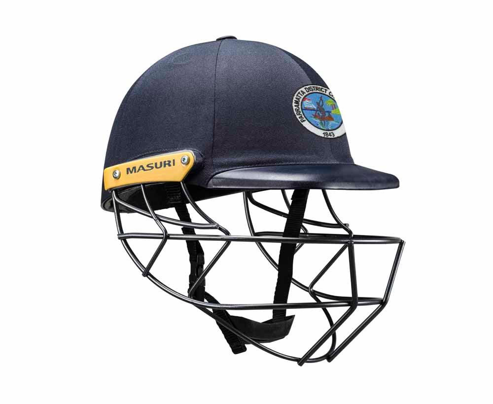 Masuri Original Series MK2 SENIOR Legacy Plus Helmet with Steel Grille - Parramatta District CC
