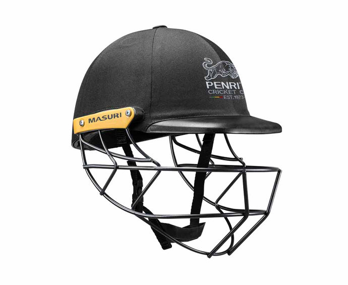 Masuri Original Series MK2 SENIOR Legacy Plus Helmet with Steel Grille - Penrith CC