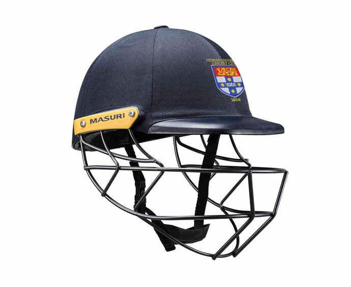Masuri Original Series MK2 SENIOR Legacy Plus Helmet with Steel Grille - Sydney University CC