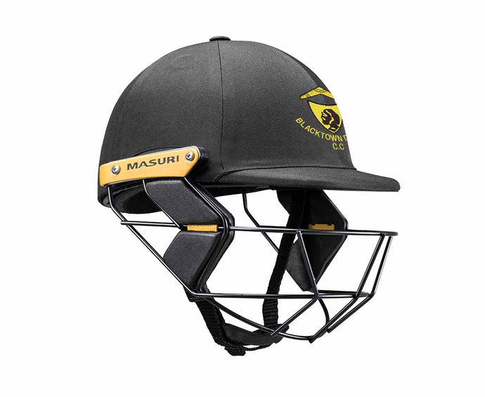 Masuri Original Series MK2 JUNIOR Test Helmet with Steel Grille - Blacktown CC