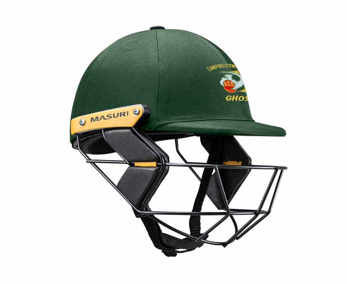 Masuri Original Series MK2 JUNIOR Test Helmet with Steel Grille - Campbelltown-Camden CC