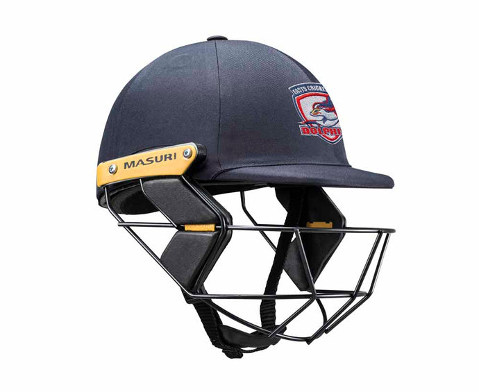 Masuri Original Series MK2 JUNIOR Test Helmet with Steel Grille - Eastern Suburbs CC
