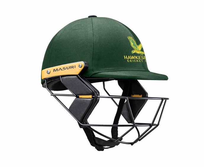 Masuri Original Series MK2 JUNIOR Test Helmet with Steel Grille - Hawkesbury CC