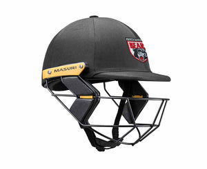 Masuri Original Series MK2 JUNIOR Test Helmet with Steel Grille - North Sydney CC