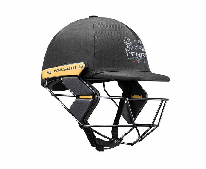 Masuri Original Series MK2 JUNIOR Test Helmet with Steel Grille - Penrith CC