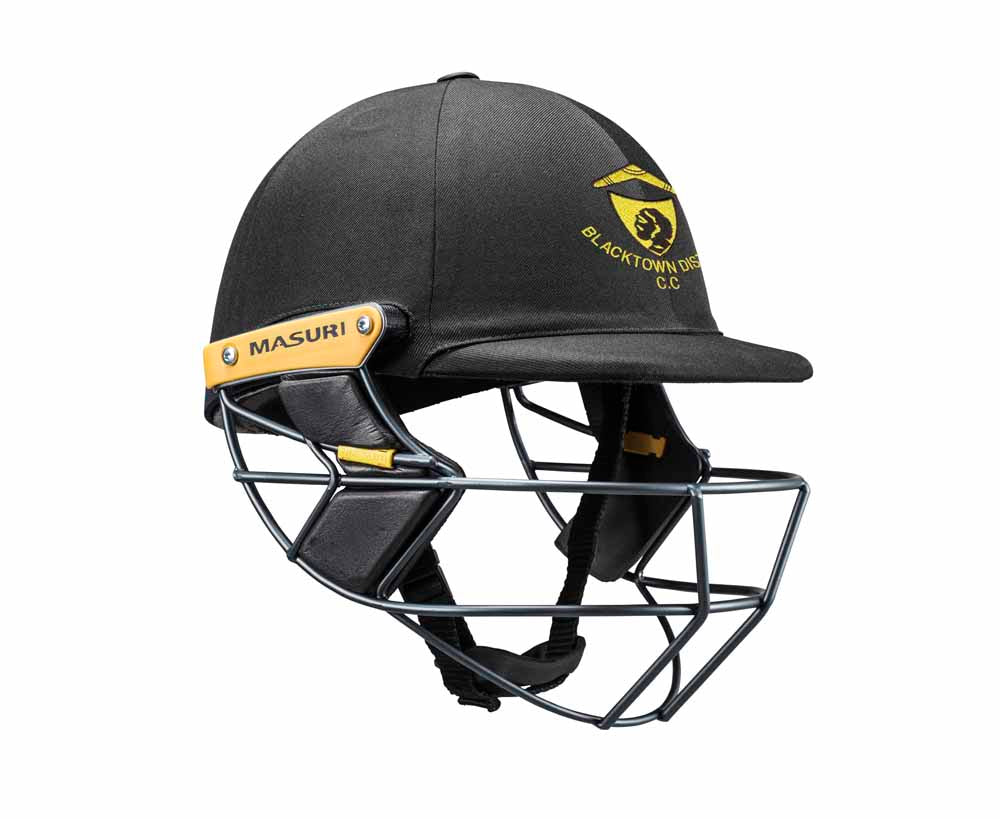 Masuri Original Series MK2 SENIOR Test Helmet with Steel Grille - Blacktown CC