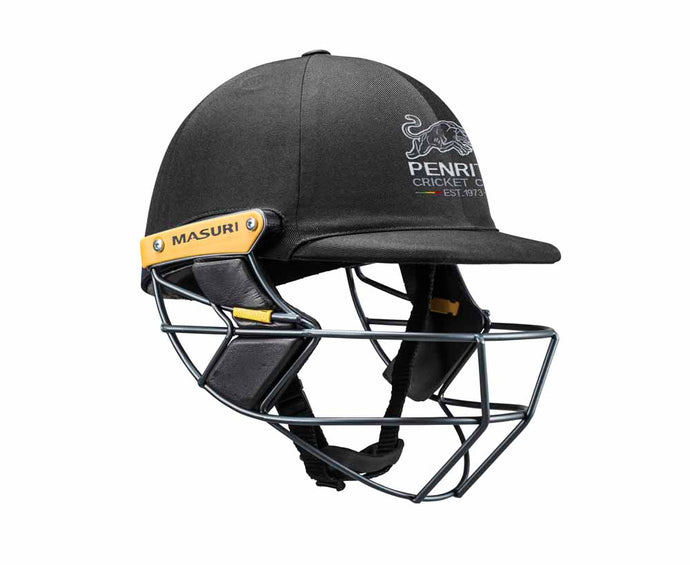 Masuri Original Series MK2 SENIOR Test Helmet with Steel Grille - Penrith CC